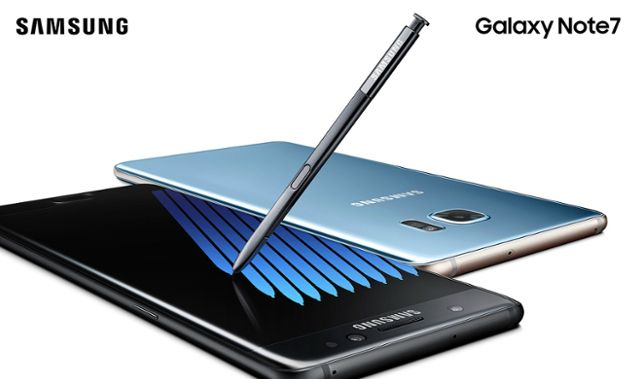novo Samsung Galaxy Note 7