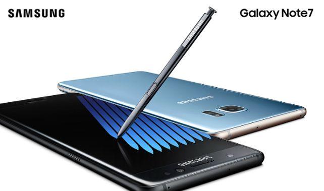 novo Samsung Galaxy Note 7