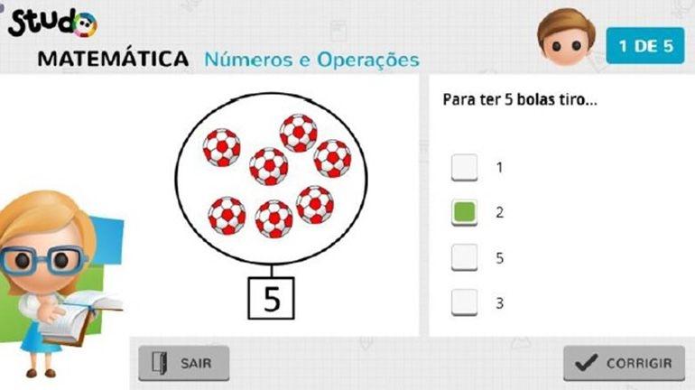 Vodafone App de TV que fomenta a prática de exercícios escolares em casa