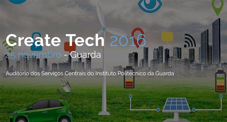 Pplware e Instituto Politécnico da Guarda anunciam o CreateTech 2016