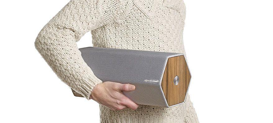 Timber é uma coluna Bluetooth
