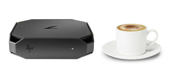 HP Z2 Mini projetada para o espaço de trabalho do futuro