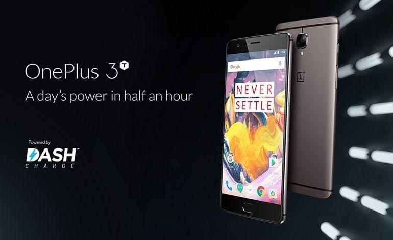 Novo OnePlus 3T é lançado com armazenamento de até 128GB