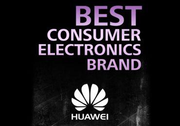 "Huawei é ""Best Consumer Electronics Brand 2016"""