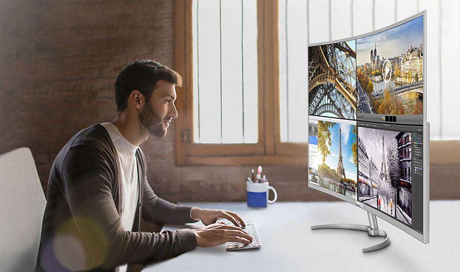 Philips MultiView para reprodução de quatro fontes em simultâneo em Full HD
