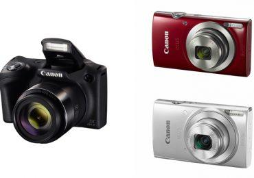 Canon apresenta as novas câmaras da gama IXUS e PowerShot