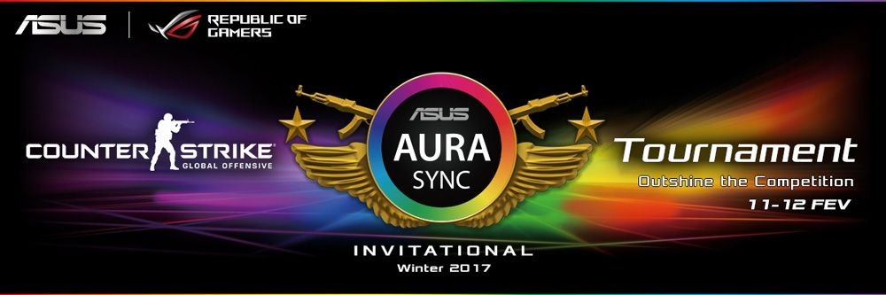 ASUS Aura Sync CS:GO Invitational Tournament
