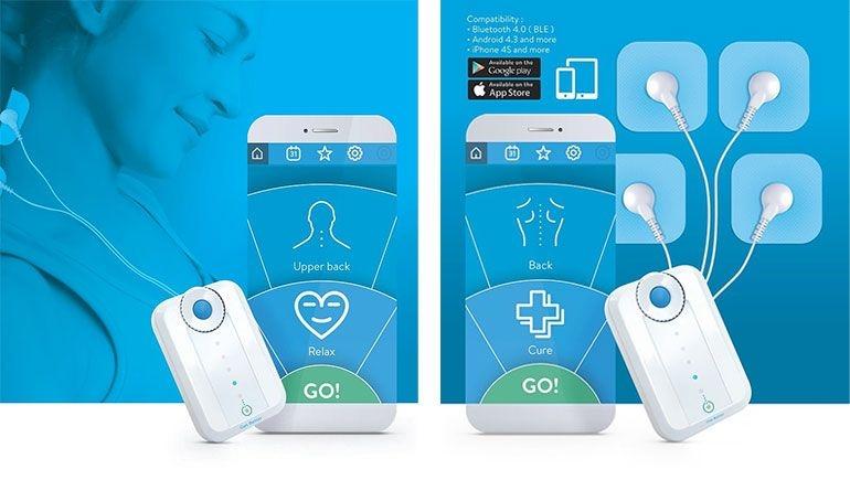 Chegou o 1º sistema de eletroestimulação do mundo com controlo por app