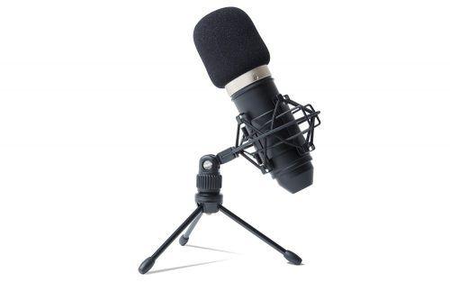 O MPM-100 é um microfone condensador cardioide com uma cápsula de diafragma banhada a alumínio puro e com 18 mm de diâmetro