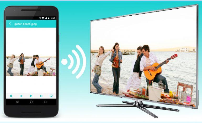 Como transmitir vídeo e áudio do dispositivo móvel para a Smart TV