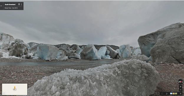A Gronelândia é a segunda maior massa de gelo do mundo