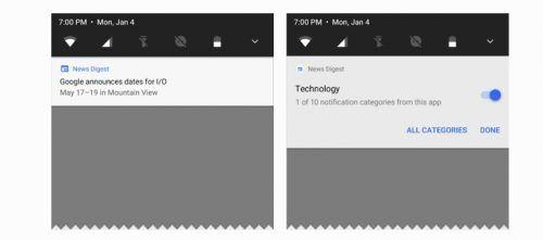 Canais de notificações no Android O