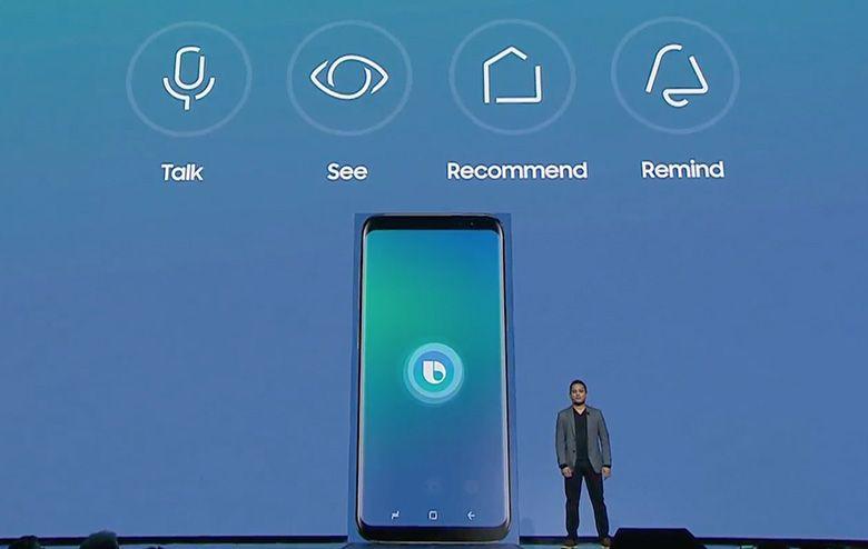 Samsung Bixby 1 assistente virtual, Bixby, Galaxy S8, Samsung