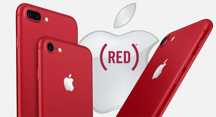 Apple iPhone 7 Plus RED