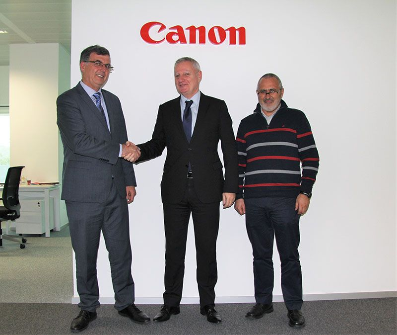 Canon Portugal fecha parceria com DCLF para abertura do Canon Business Center Lisboa Oeste