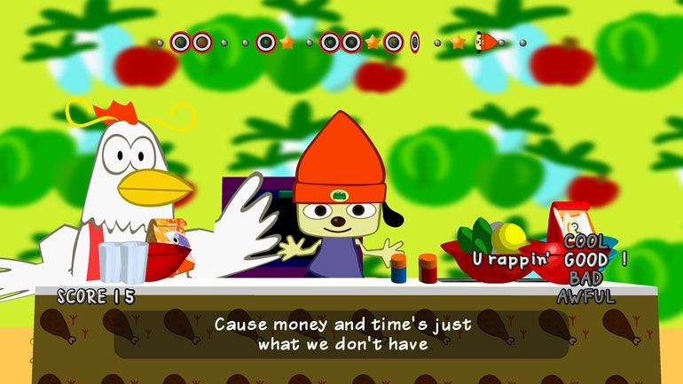 PaRappa The Rapper chega hoje à PlayStation 4