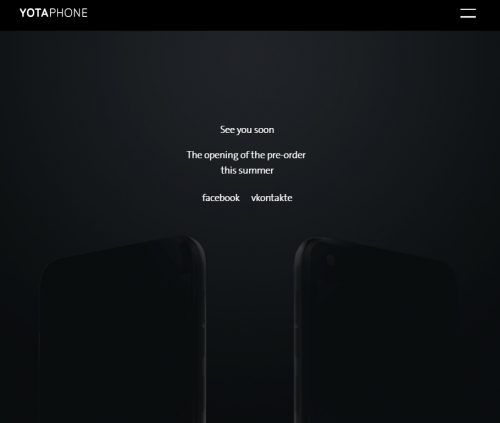 Yotaphone 3 Teaser Android, e-ink. YotaPhone 3, smartphone, yotaphone