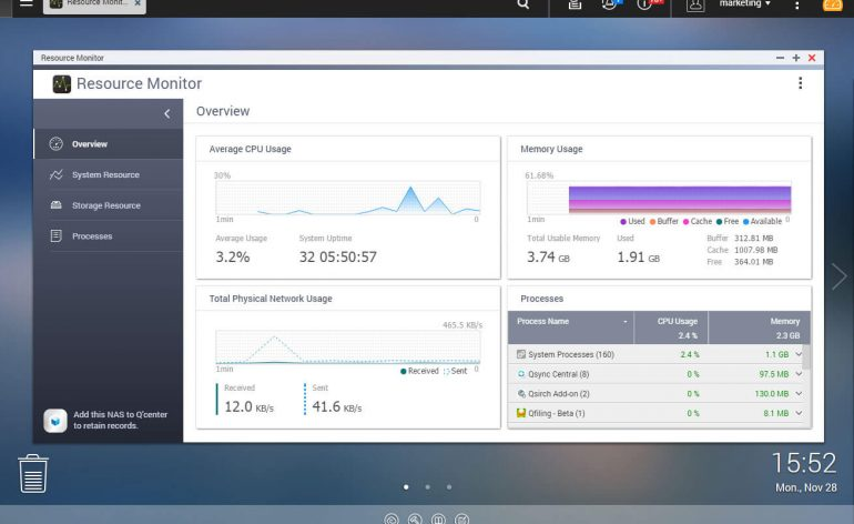 A QNAP lança sistema operativo inteligente de NAS, o QTS 4.3.3