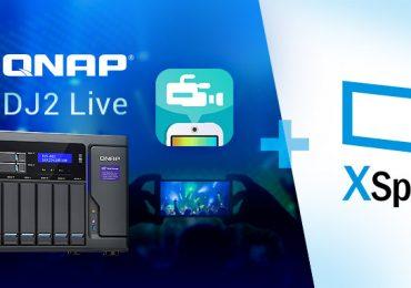 QNAP Anuncia DJ2 Live Para Streaming e Armazenamento de Vídeos 4K em NAS