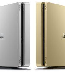 Novas Edições PlayStation 4 Slim em Gold e Silver