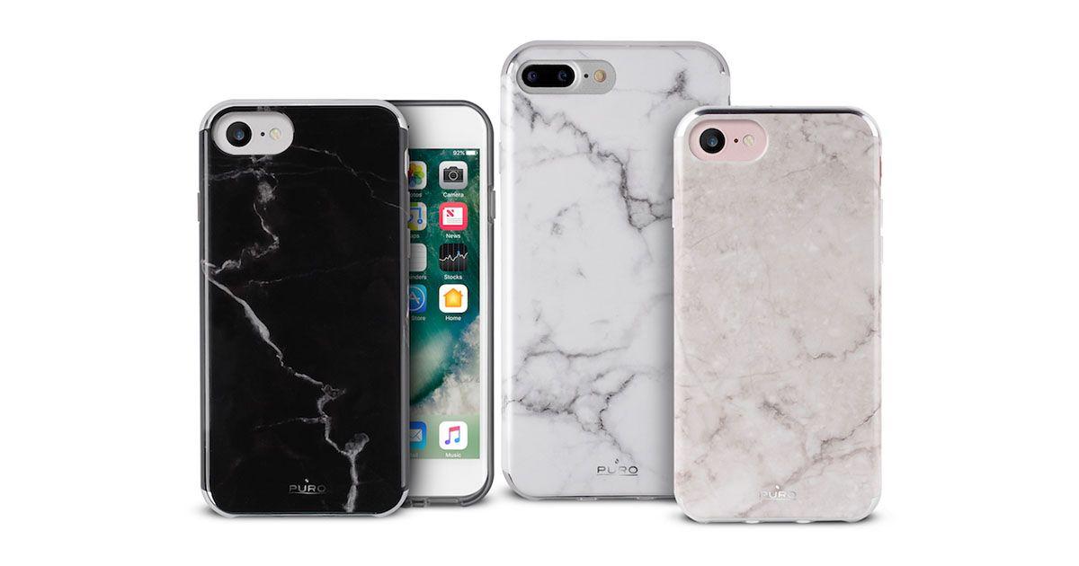 iPhones com proteção de mármore