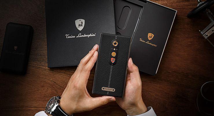 Tonino Lamborghini smartphone android de luxo