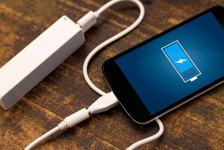 Tempo de carregamento da bateria dos smartphones