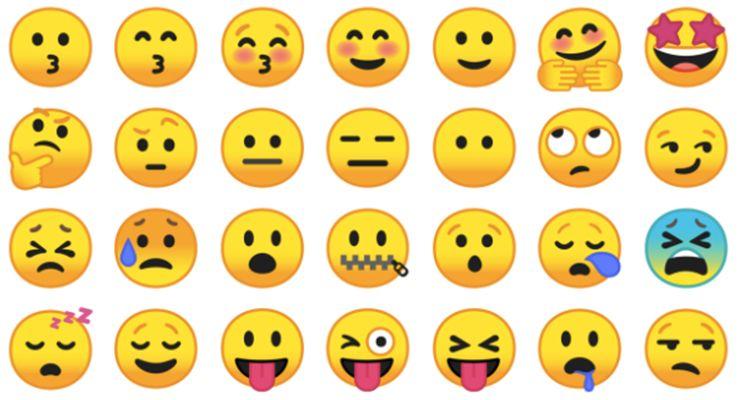 Emojis Android 8.0 Oreo