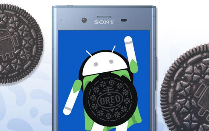 Sony Xperia XZ1 Oreo