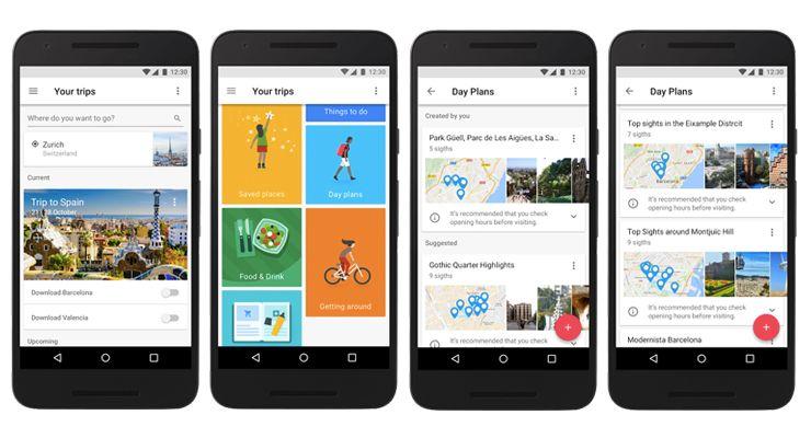 Google Trips Portugal