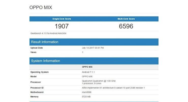 Oppo Mix