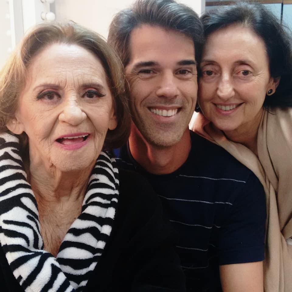 Laura Cardoso e Ivann Willig e Fátima Baleroni