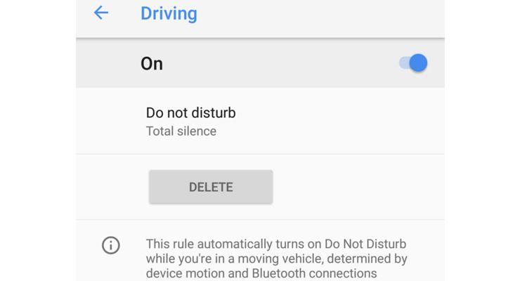 Google Pixel 2 condução