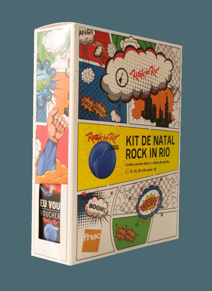 O Kit de Natal do Rock In Rio 2018