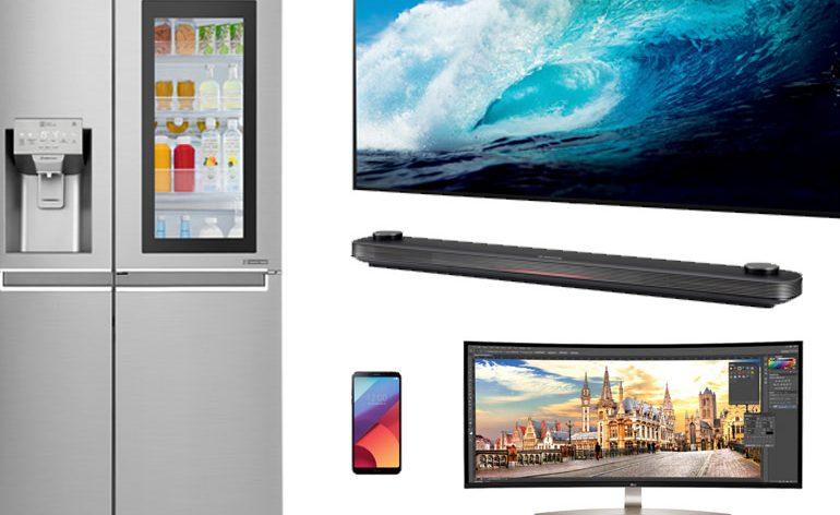 LG sugere os presentes mais tecnológicos deste Natal