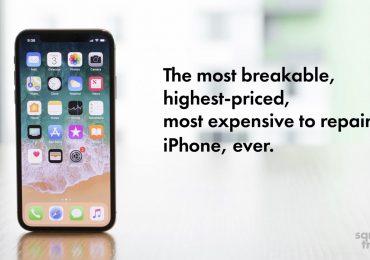SquareTrade testa Iphone X
