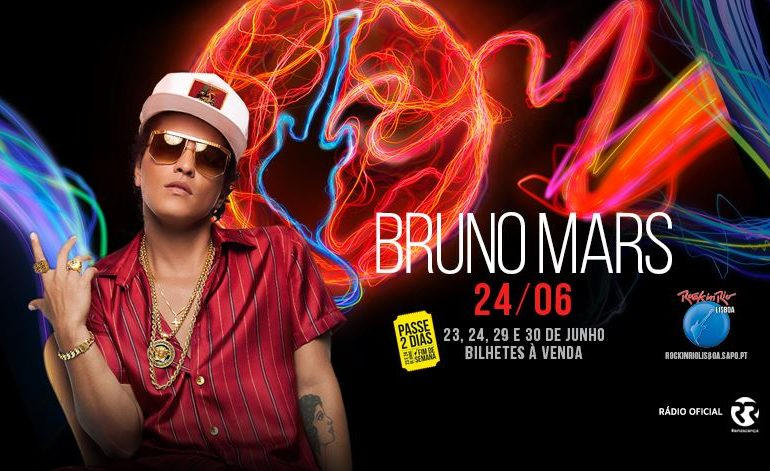 Bruno Mars no RIR-2018