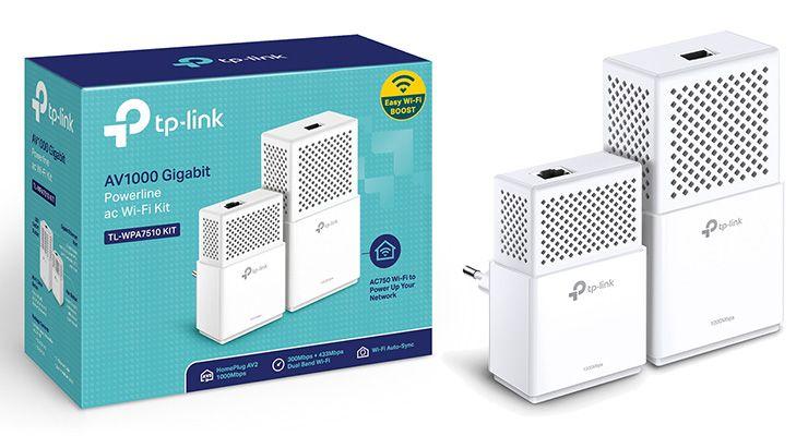 Internet em todas as divisões da casa ou do escritório com as soluções powerline da TP-Link