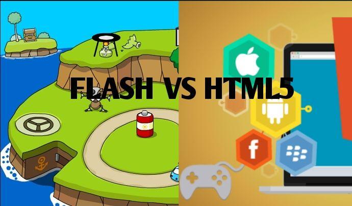 Flash vs HTML5: Qual a melhor opção para jogos?