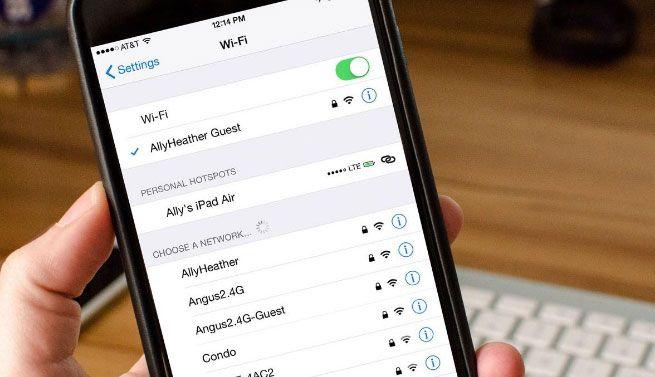 Nomes de rede Wi-Fi