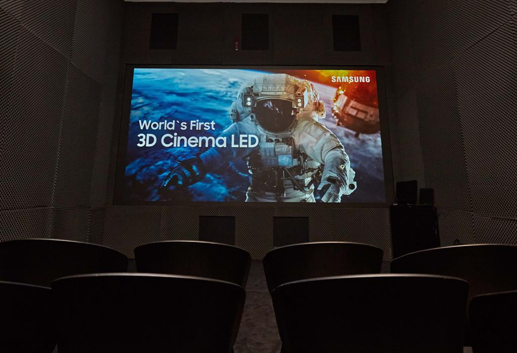 Samsung ISE 2018 3D CINEMA LED TN 3D Cinema LED, Integrated Systems Europe, Intelligent UHD Signage, ISE 2018, Samsung, The Wall Professional