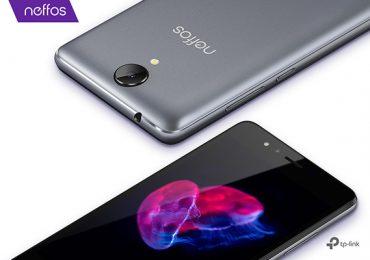 Neffos C5A é o novo smartphone low cost da TP-Link