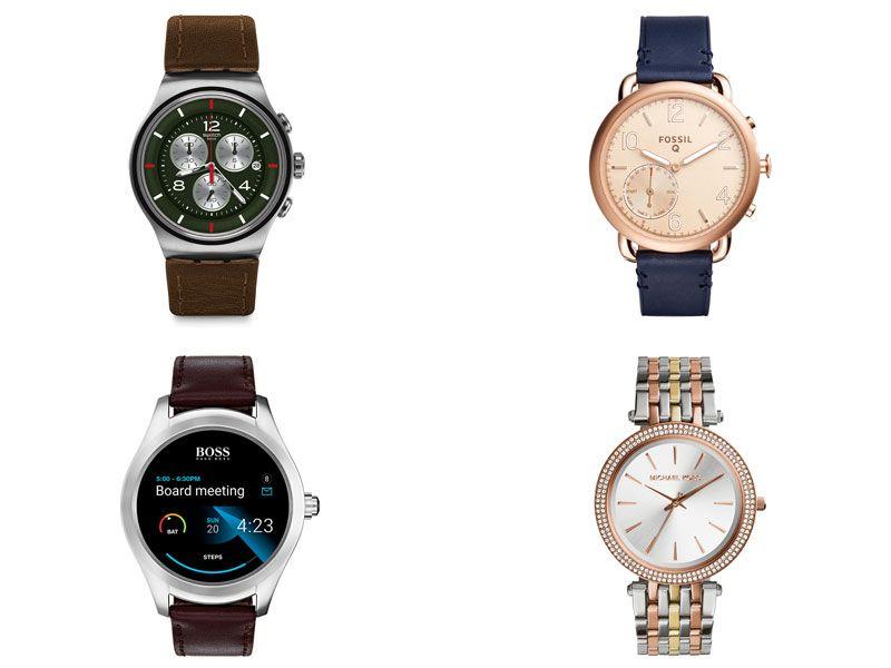 mais de 100 marcas de relógios