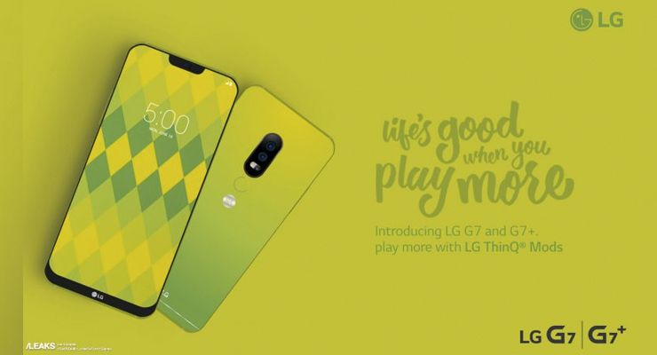LG G7 poster