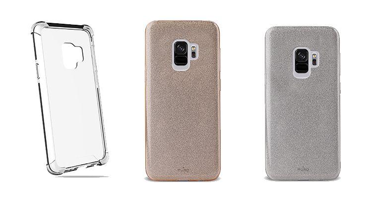 Samsung Galaxy S9 com novas capas da Puro