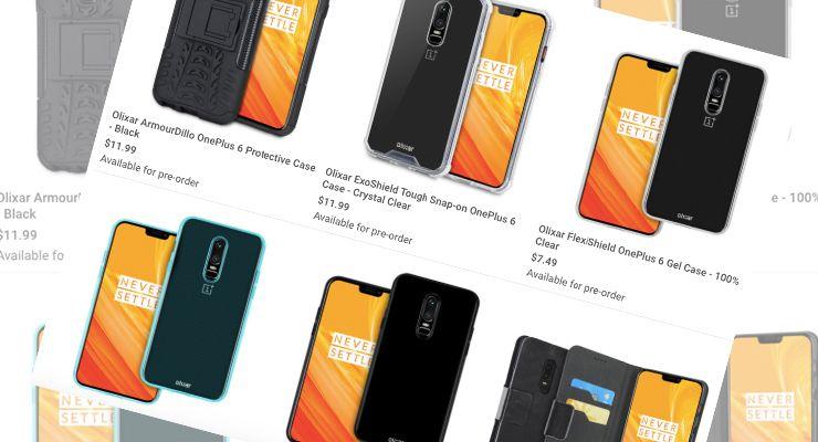 OnePlus 6 cases