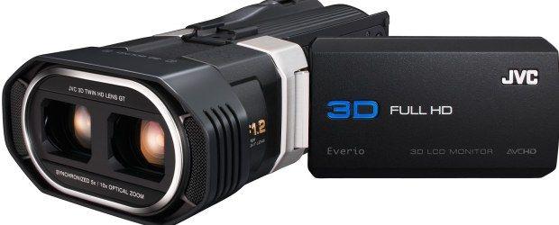JVC GS1 3D, câmeras 3D, JVC Everio GS-TD1, LG Optimus 3D, LG Optimus Pad, pictures, Sony HDR-TD10