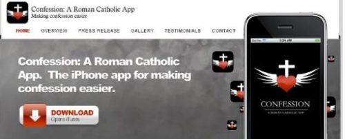 confession1 appstore, Confession: A Roman Catholic, iphone, Papa Bento XVI, Reuters