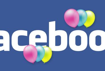 facebook aniversário