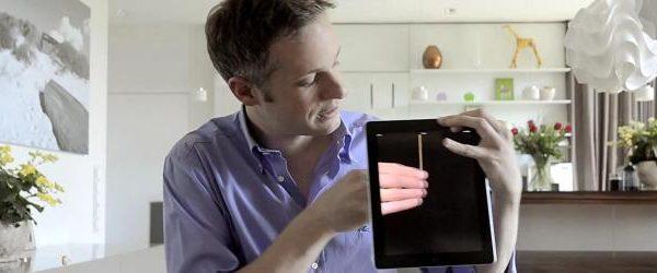 """Simon Pierro faz magia com iPad """"simon pierro"""""""